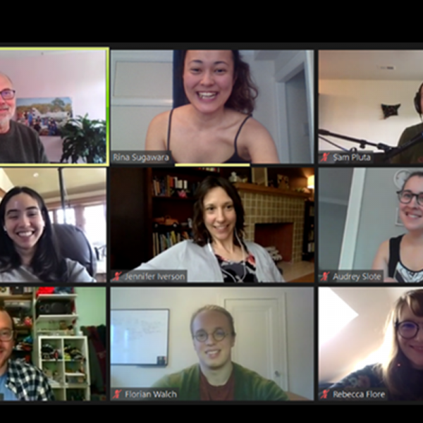 Screenshot of a Zoom meeting of the Music Theory Ready Group