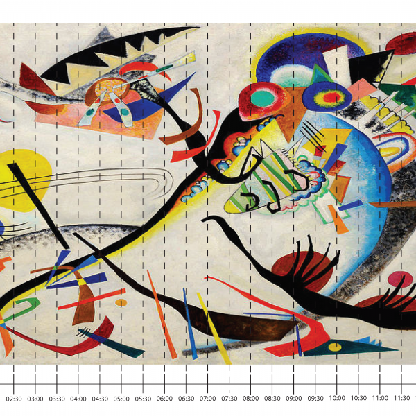 Exquisite Bird by Wassily Kandinsky