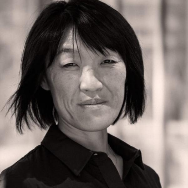 black and white headshot of Nina Eidsheim