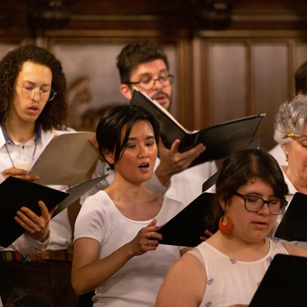Early Music Ensemble in concert