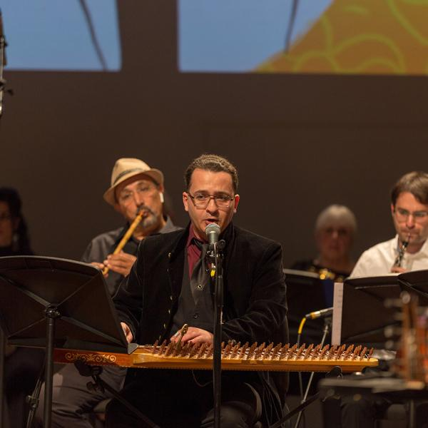 Middle East Music Ensemble in concert