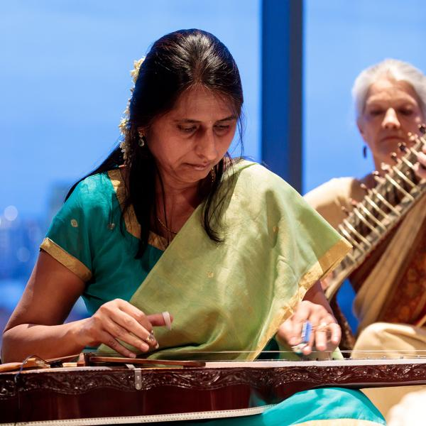 South Asian Music Ensemble in performance