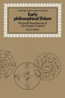 Early Philosophical Shiism: The Ismaili Neoplatonism of Abū Yaʿqūb al-Sijistānī