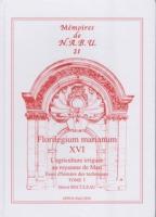 Florilegium marianum XVI. L'agriculture irriguée au royaume de Mari: essai d'histoire des techniques