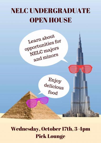 NELC Fall Undergraduate Open House