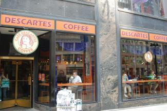 Image of Descartes Coffee cafe for Upcoming Conferences page