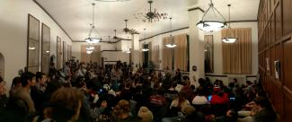 """The Crowd at """"The Philosophy of Divorce"""" Night Owls Event"""