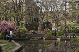 Botany Pond on Campus