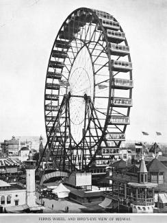 Ferris Wheel, Columbian Exposition 1893