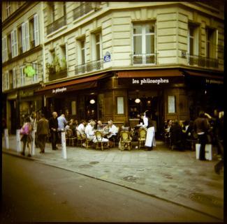 Les Philosophes Cafe