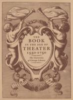 Book in the Age of Theatre