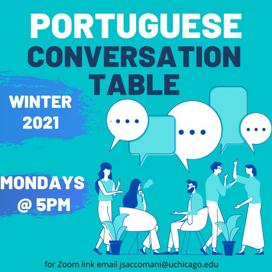 Image for Portuguese Conversation Table