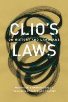 Clio's Laws