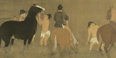Bathing Horses 浴馬圖 thumbnail