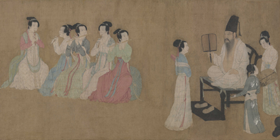 Night Revels of Han Xizai 韓熙載夜宴圖 thumbnail