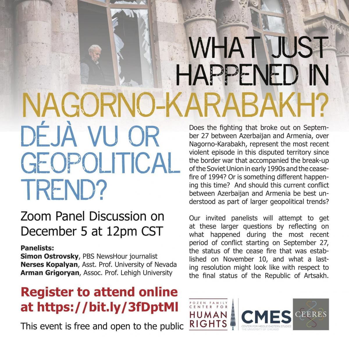 What Just Happened in Nagorno-Karabakh: Deja Vu or Geopolitical Trend?