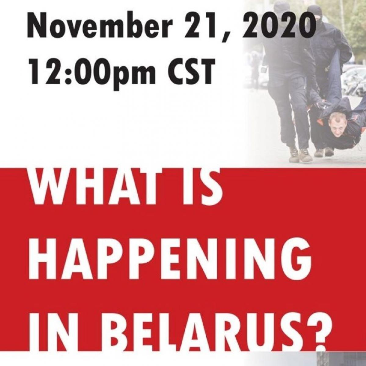 What is Happening in Belarus? | A Round Table Discussion