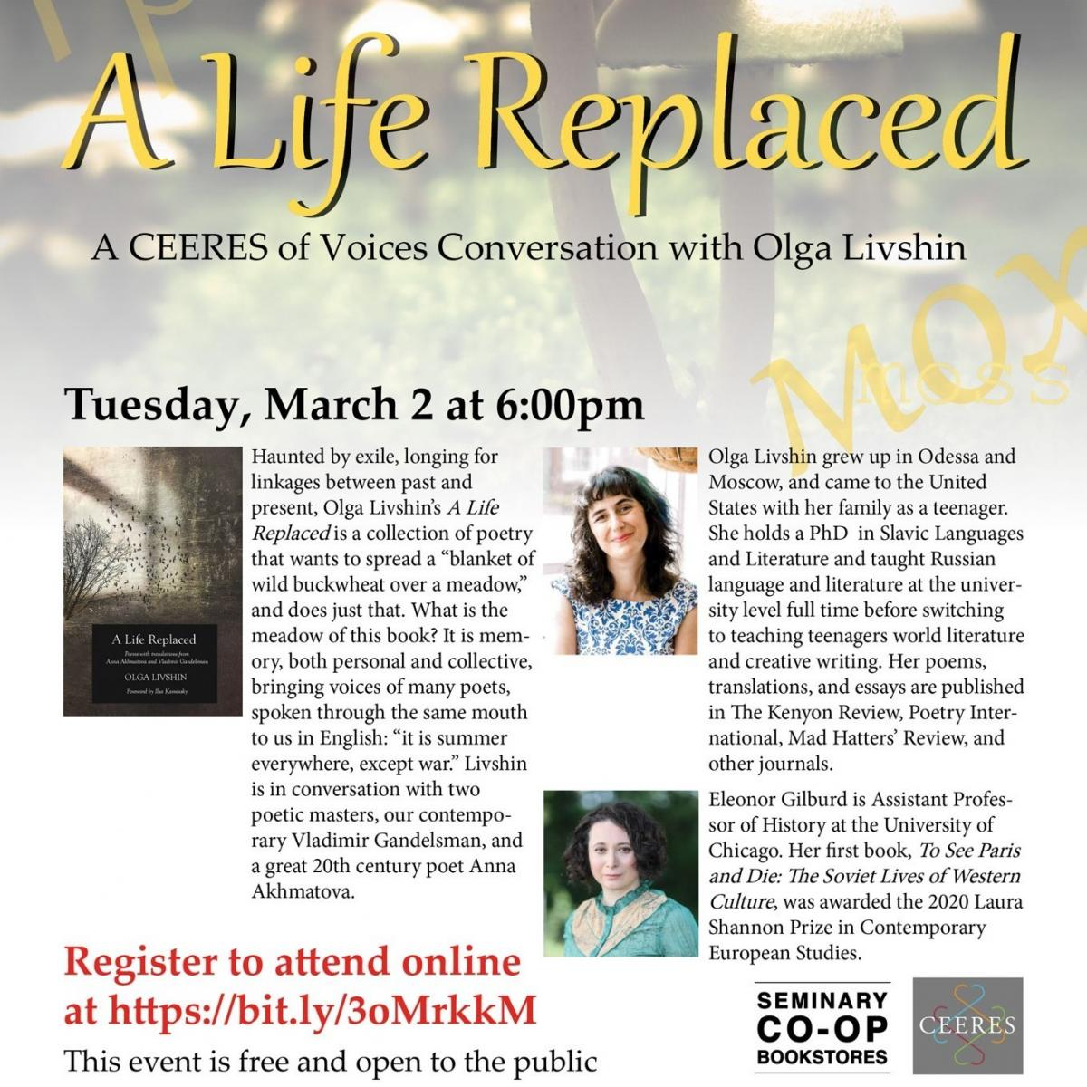 A Life Replaced Poster