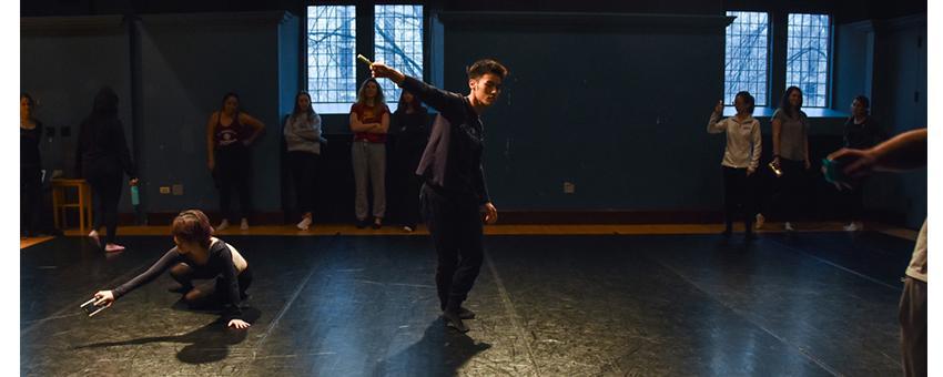 dancers in BARS