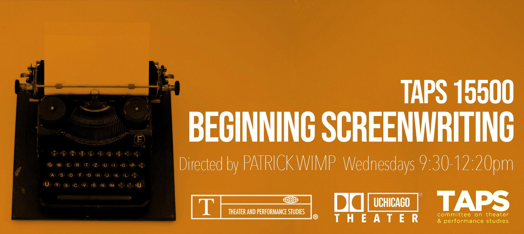 Beginning Screenwriting