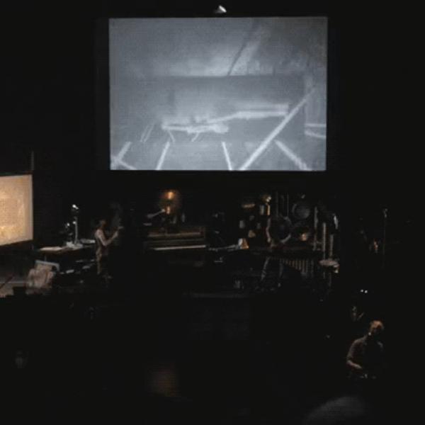"manual cinema's production of ""frankenstein"""