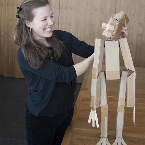 marissa fenley and puppet