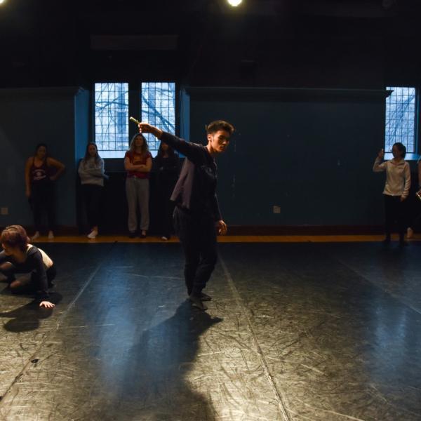 Dance class in BARS