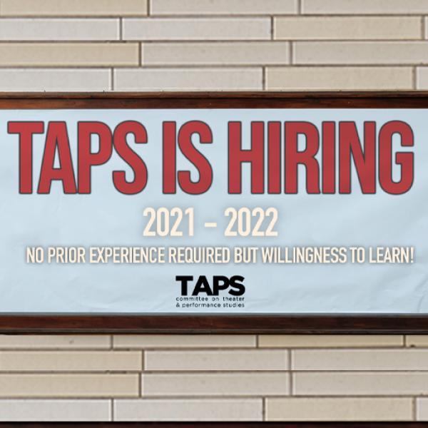 TAPS is Hiring